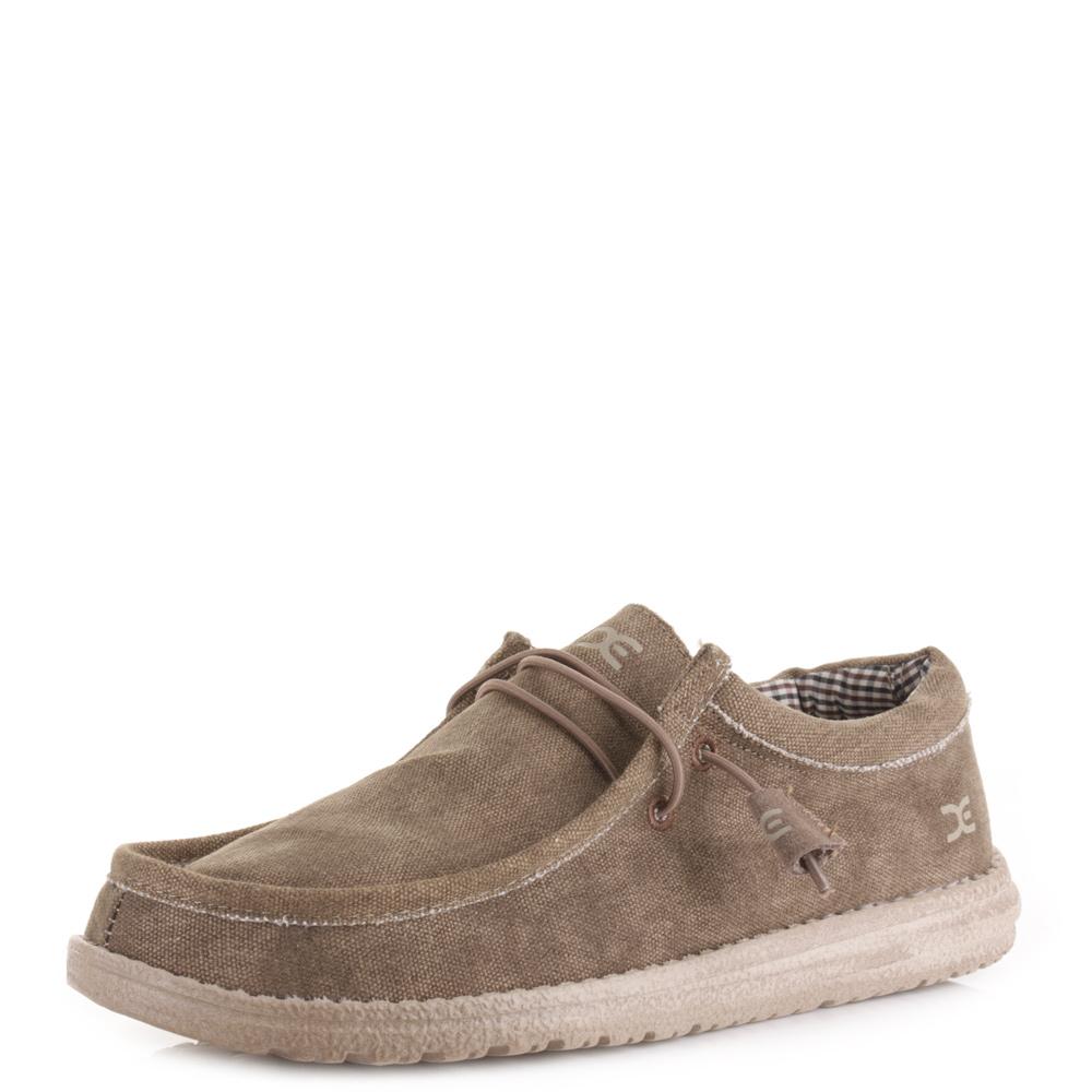 Canvas Shoe Men Size  E