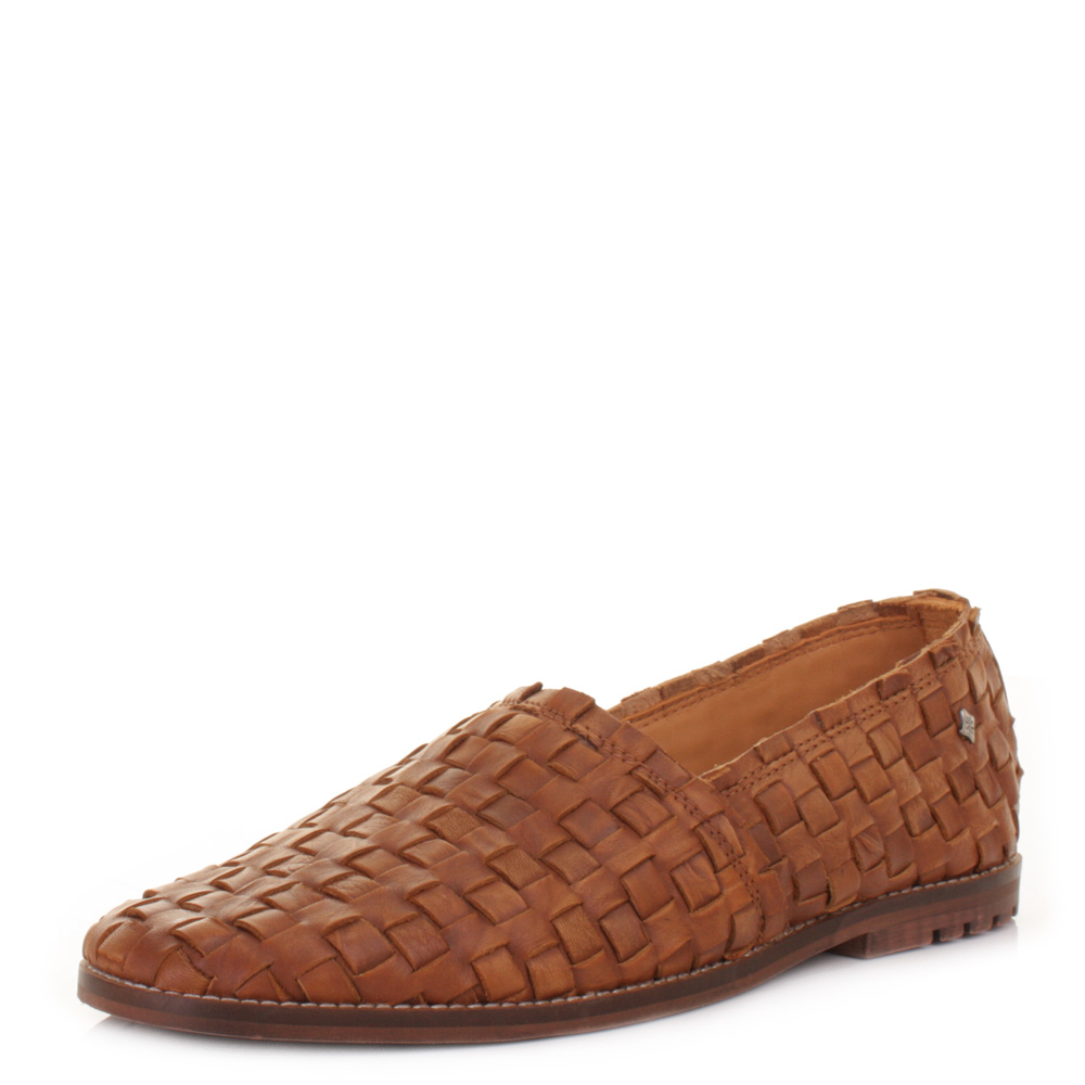 Woven Leather Dress Shoes