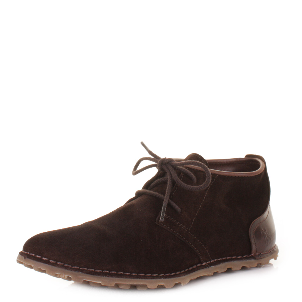 mens fly be express brown suede desert ankle