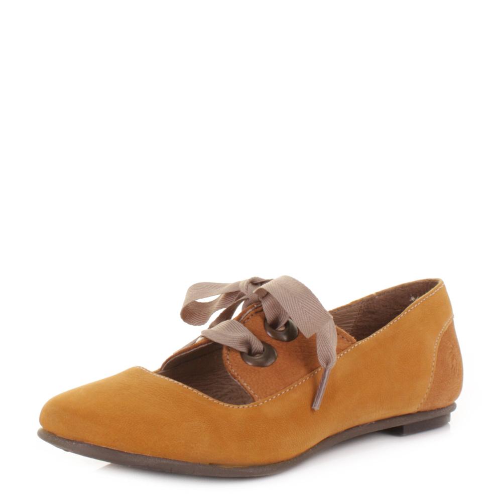 Mustard Flat Shoes Uk