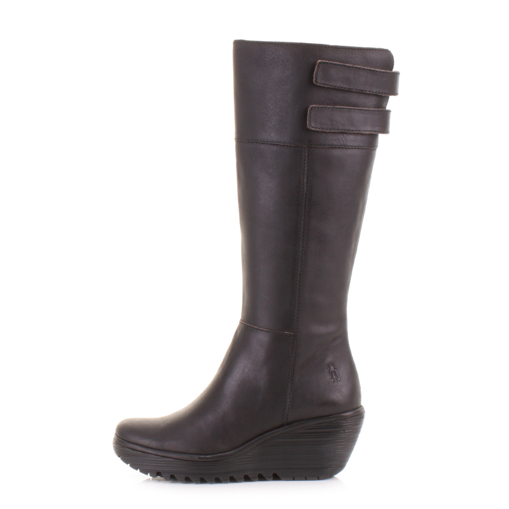 fly wedge boots