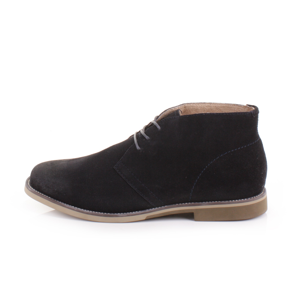 mens hush puppies navy hipster chukka suede desert smart ankle boots size 6 12 ebay. Black Bedroom Furniture Sets. Home Design Ideas