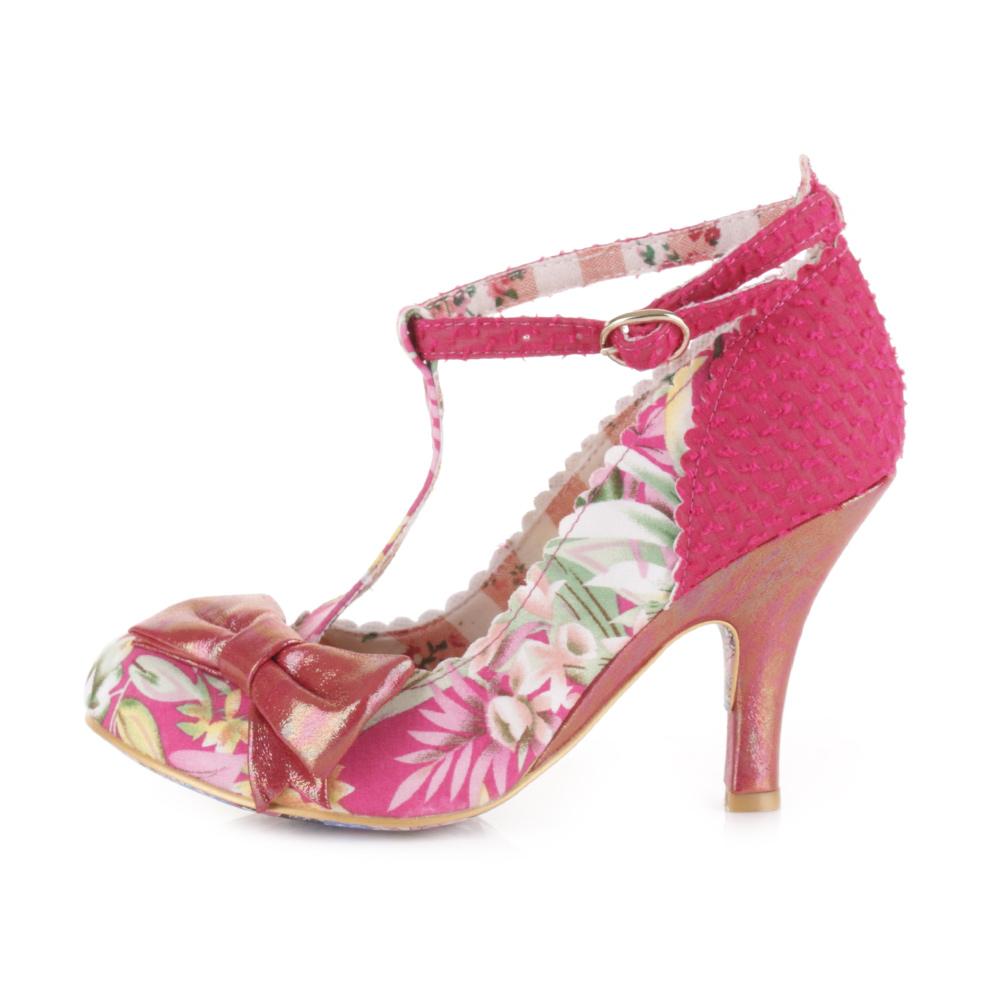 Pink Womens Heels - Qu Heel