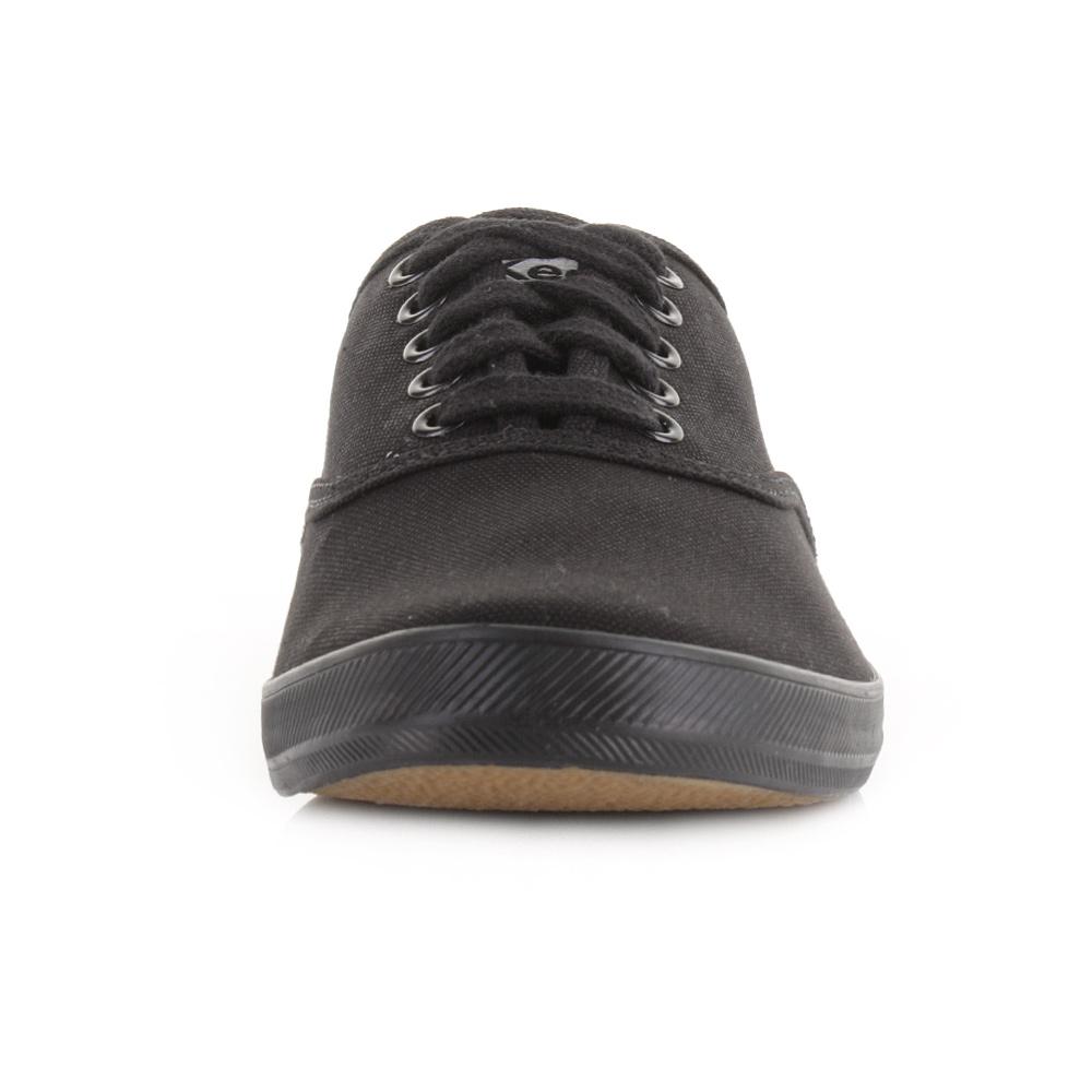 mens keds champion black leather