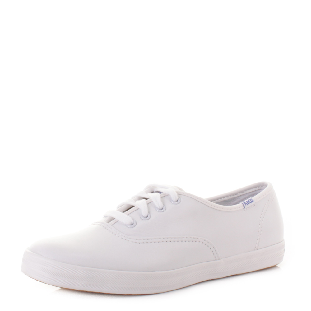 white leather womens keds