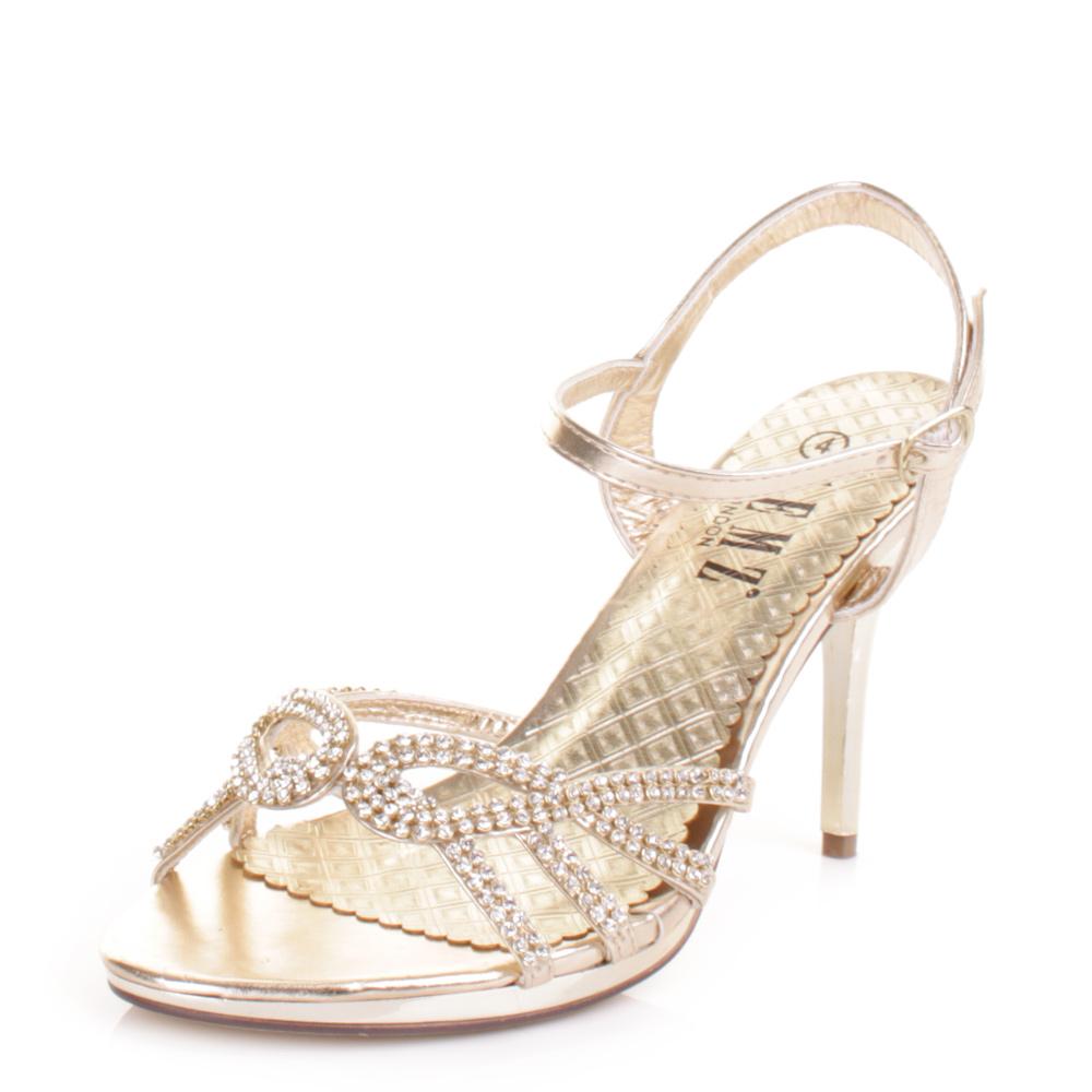 gold high heels wedding gold sandals heels. Black Bedroom Furniture Sets. Home Design Ideas