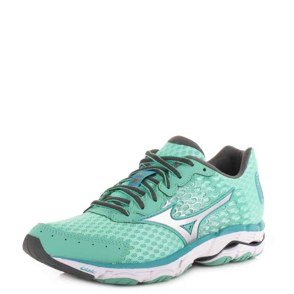 Uk Mizuno Wave Inspire 10 Running Shoes White Black Blue 2016 Women 39 S Size Us 5 6 7 8 9 11 12 13