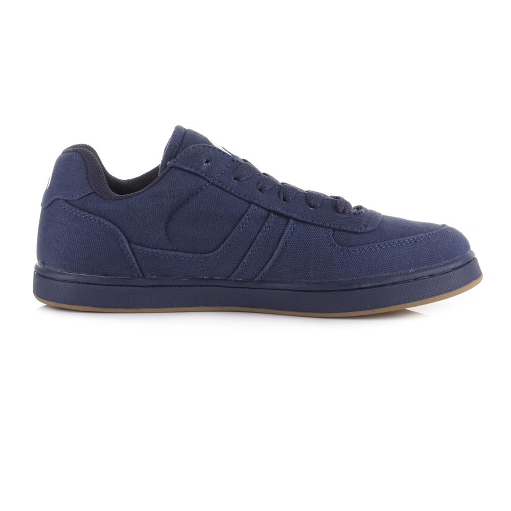 Mens Casual Lace Up Shoes Blue Platform