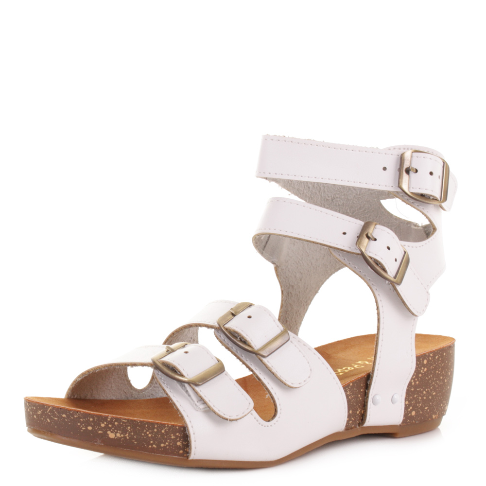 Popular Womens Diamante Sandals Summer Flat Jelly Shoes Double Strap Ladies