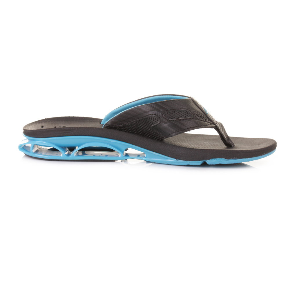 mens reef x s 1 neon blue toe post bottle opener flip flops sandals size 6 12 ebay. Black Bedroom Furniture Sets. Home Design Ideas