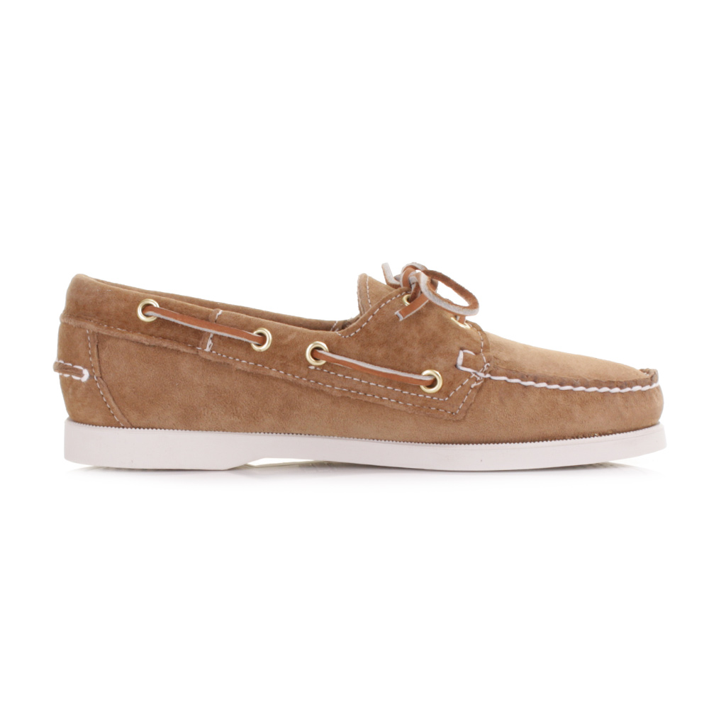 MENS SEBAGO DOCKSIDES SAND SUEDE MOCCASIN BOAT DECK SHOES SIZE 3-8 ...