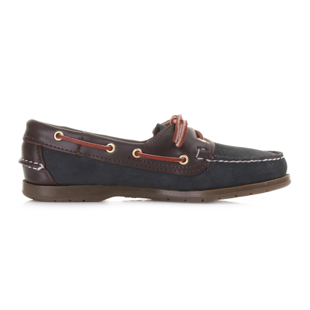 Details about WOMENS SEBAGO VICTORY NAVY WINE LEATHER BOAT DECK SHOES