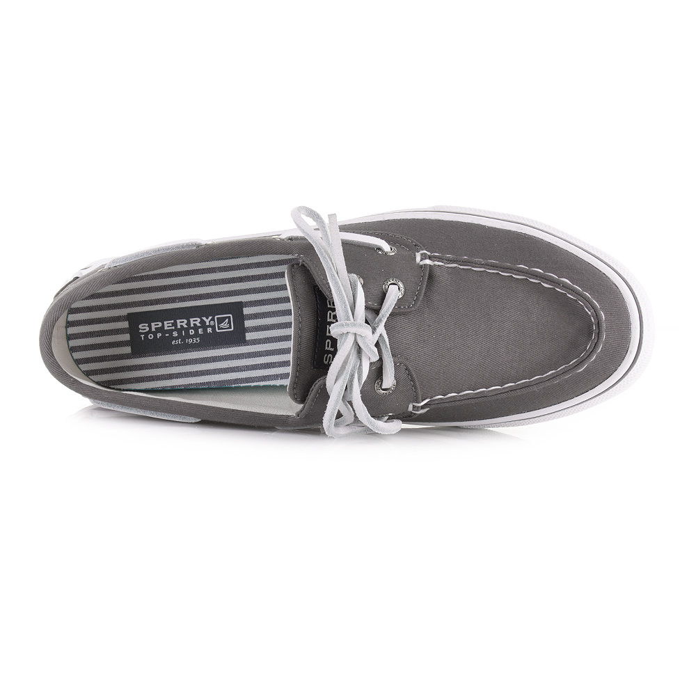 Mens Sperry Top Sider Bahama 2 Eye Varsity Grey Boat Deck Shoes ...