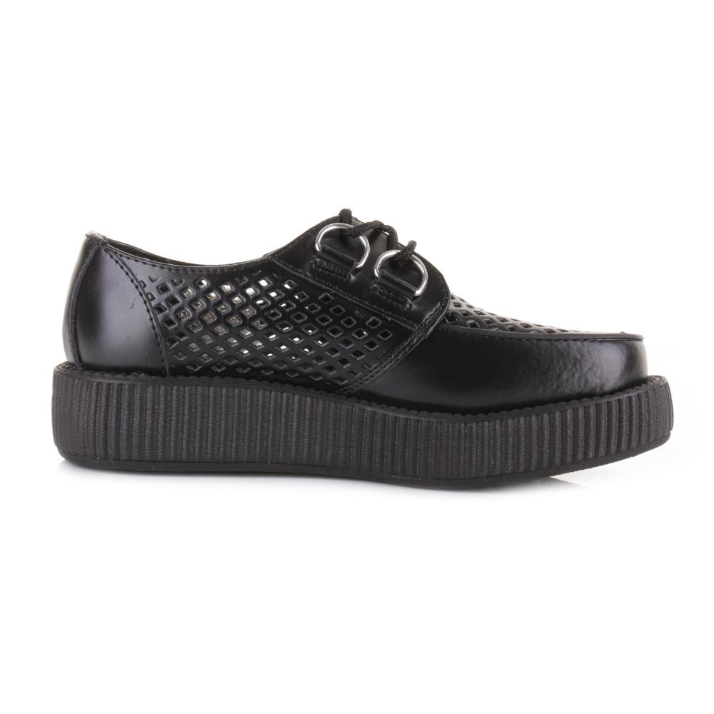 womens tuk v8883 black viva lo sole retro classic leather
