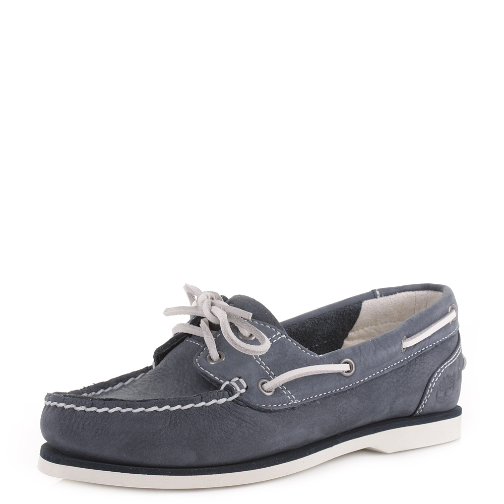 Navy Boat Shoe Womens