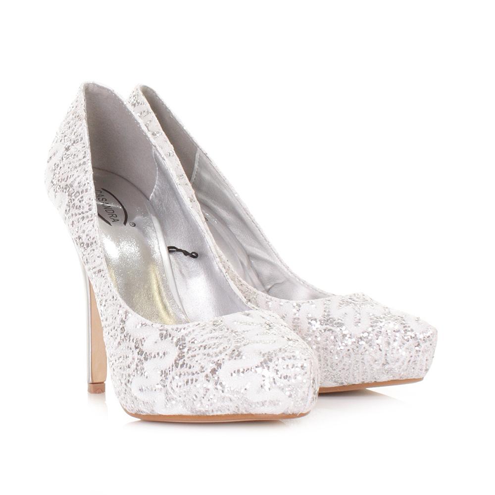 High Heels In Silver