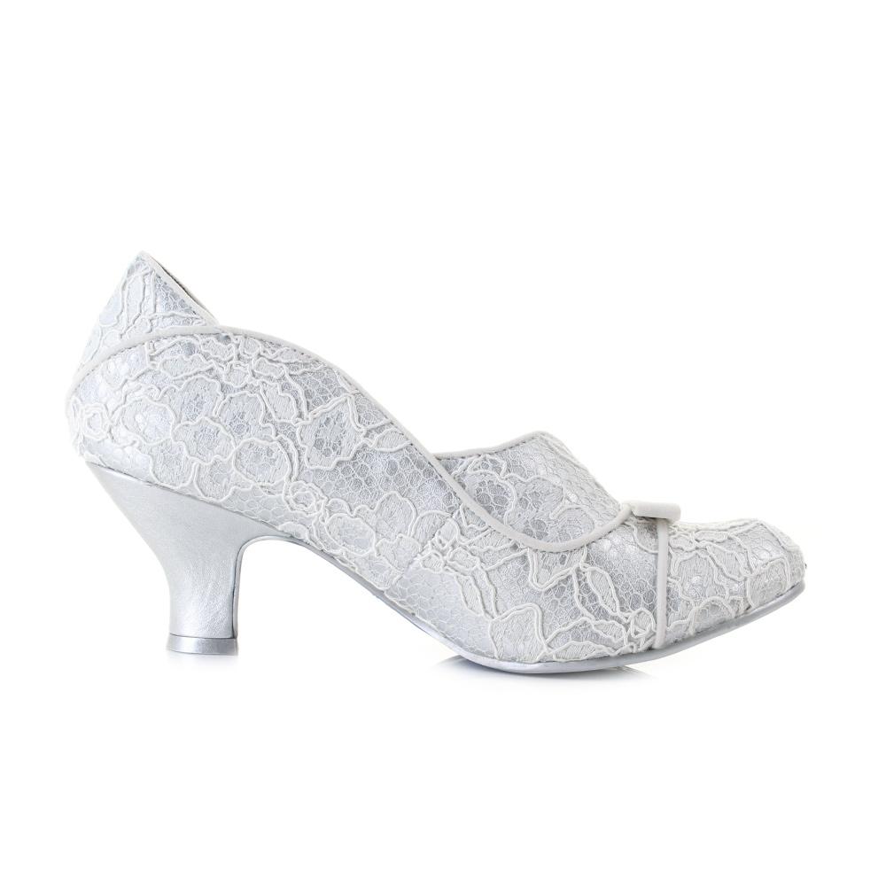 Classy Silver Heels