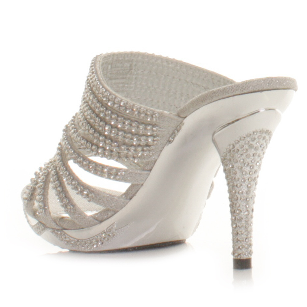 high heels for prom silver - photo #49