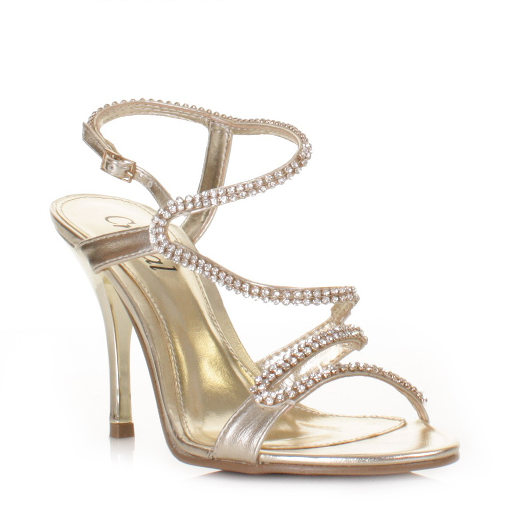 Strappy Wedding Heels - Is Heel