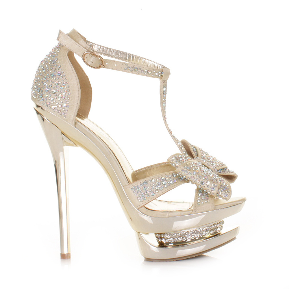Gold High Heels - Prom Shoes High Heels Txy Gold Satin