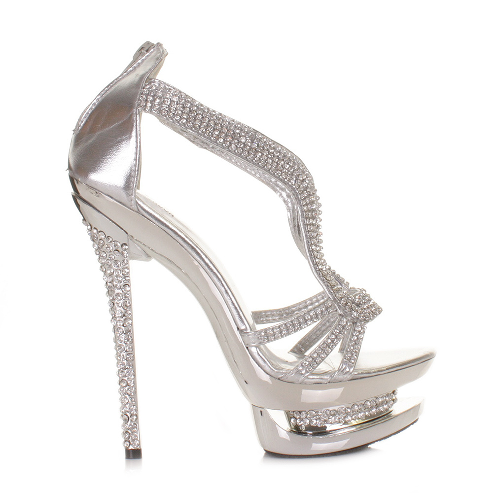 silver high heels for prom car interior design