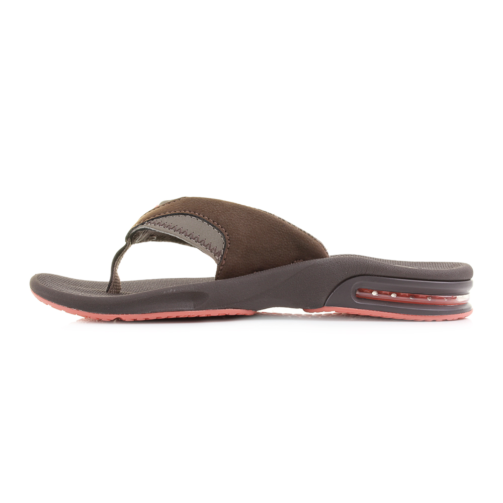 Model These Thong Sandals From Reef  Brown, Metallic Silver, And Bluebird Blue These Elegant Sandals Will Transition Effortlessly From Day To Night While They Arent The Most Supportive Sandal On The M