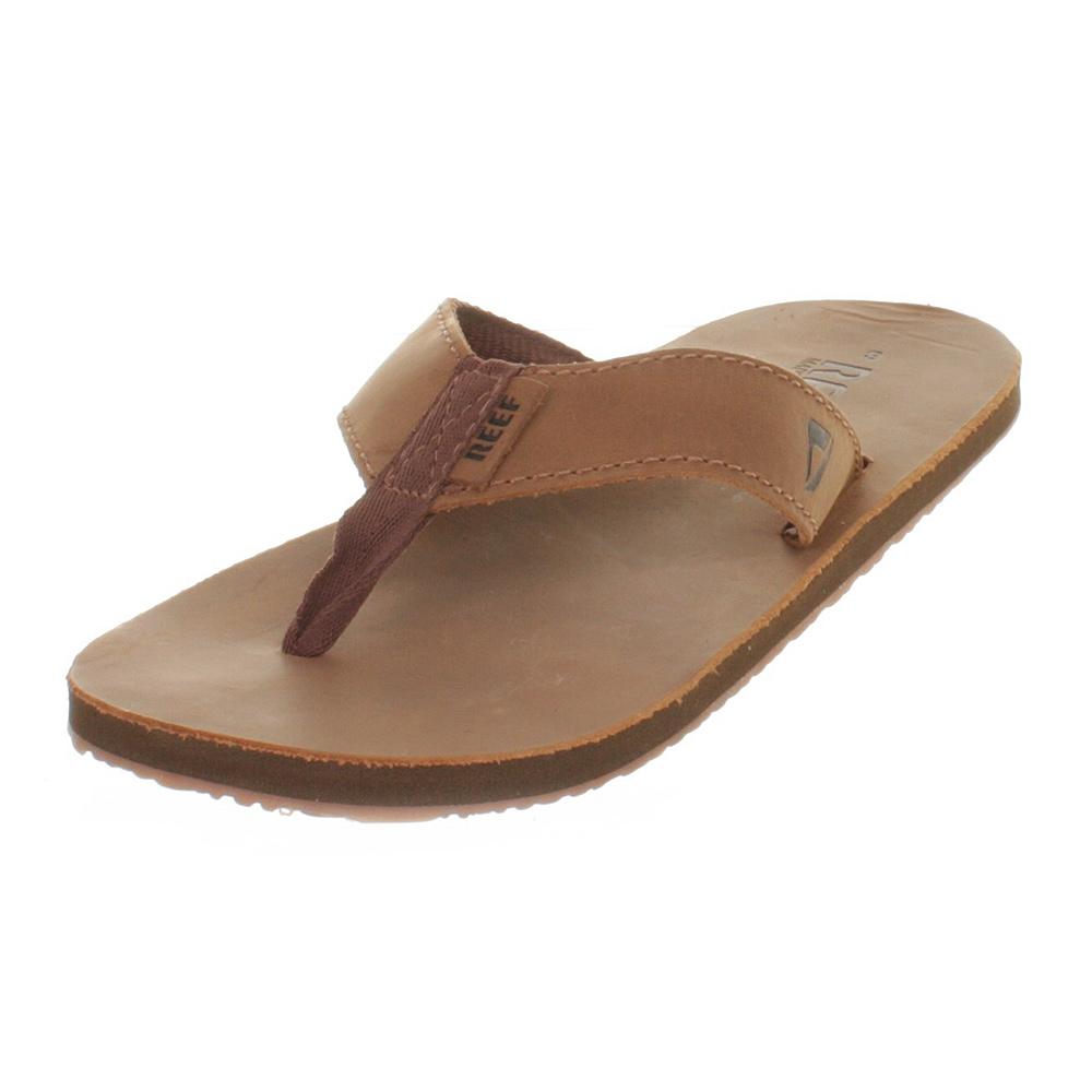 herren reef leder braune damen flip flops sandalen gr e. Black Bedroom Furniture Sets. Home Design Ideas