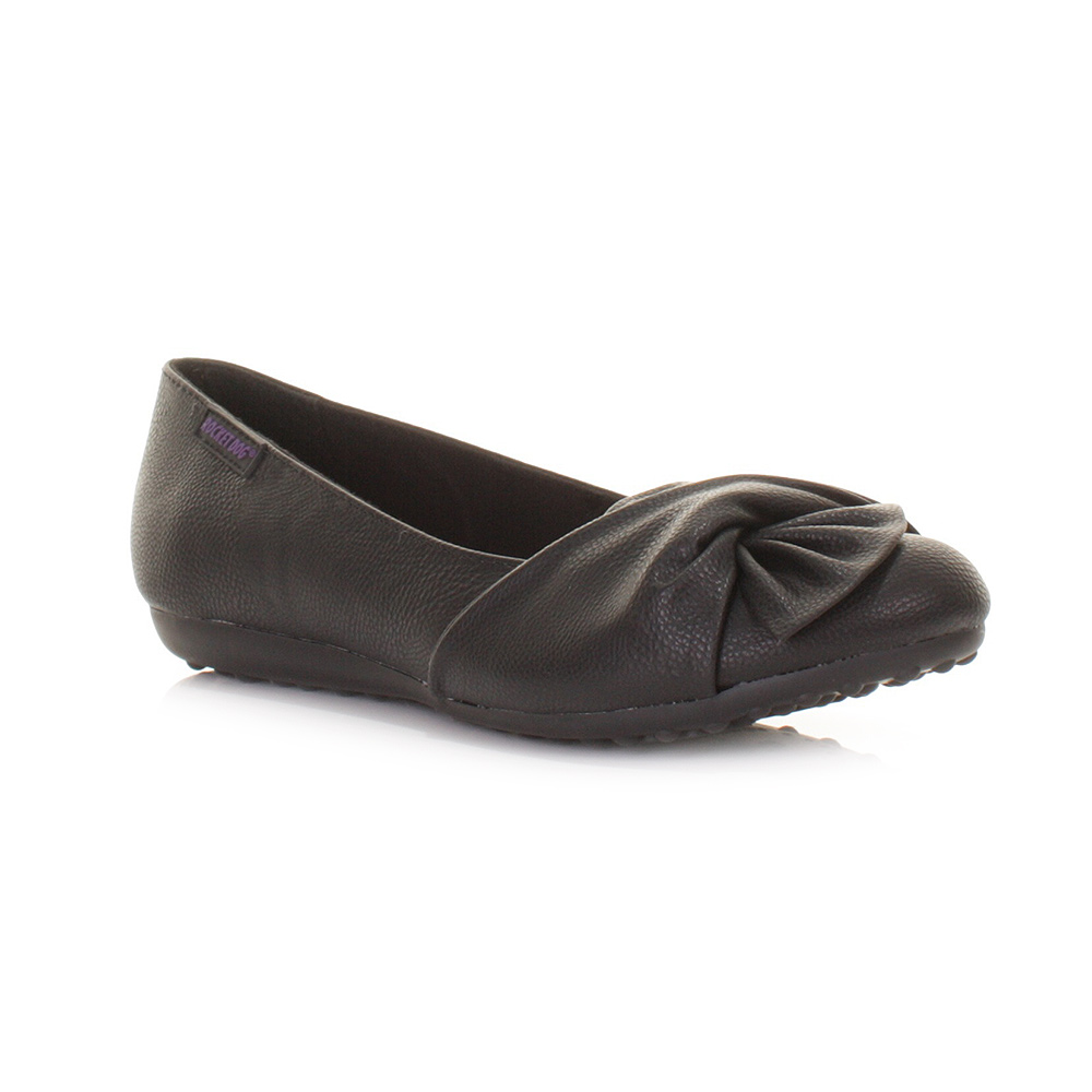 Sepatuolahragaa Black Flat Work Shoes Images