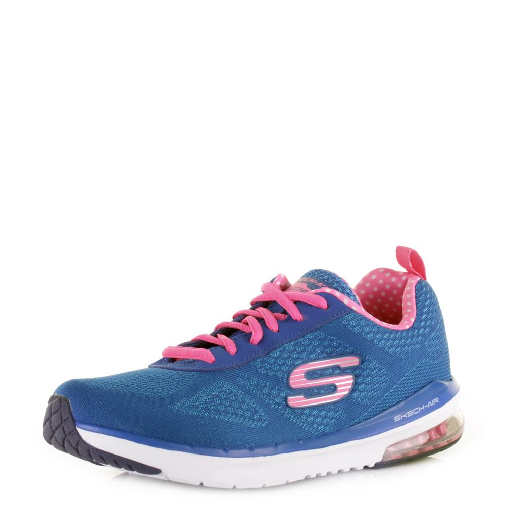 Skechers Blue Mesh Deck Shoe