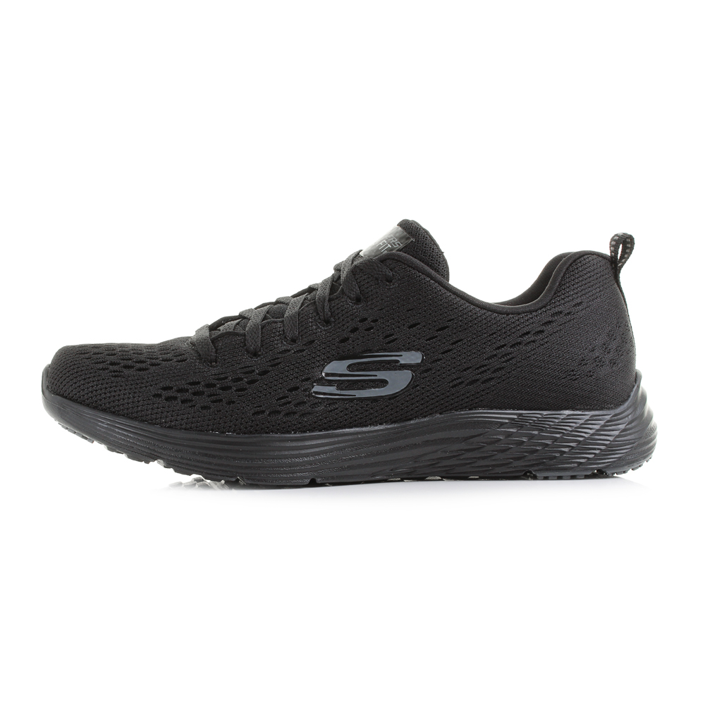 skechers womens black trainers sale   OFF45% Discounted 63baf938d77e