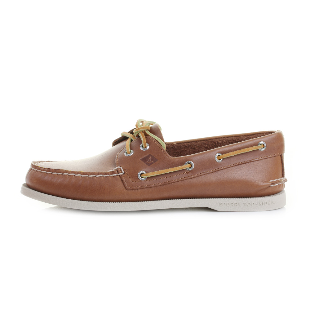mens sperry authentic original a o 2 eye leather boat