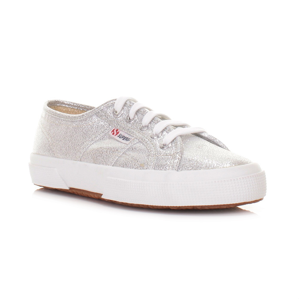 superga schuhe damen turnschuhe silber glitzer 2750 gr e eu 36 40 ebay. Black Bedroom Furniture Sets. Home Design Ideas