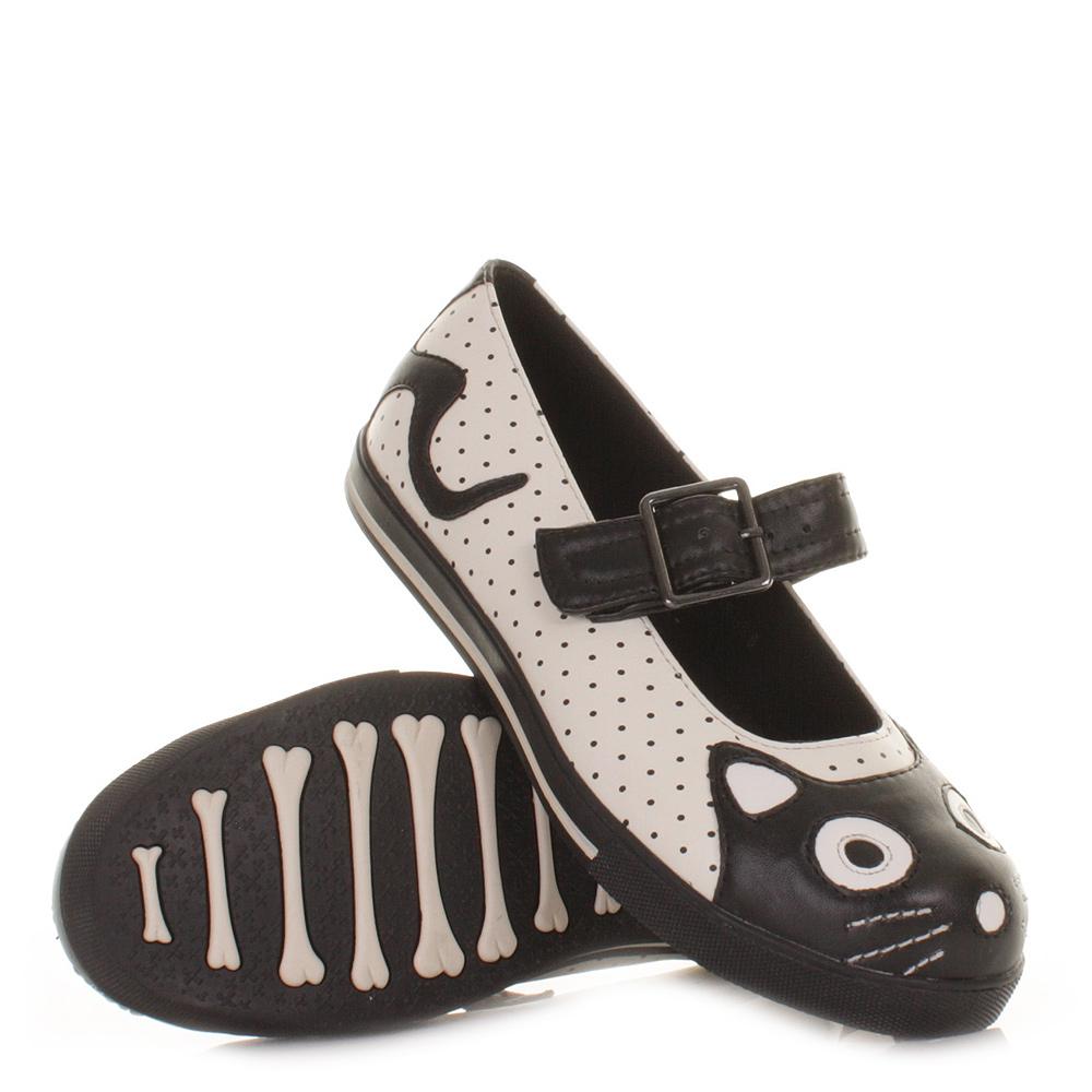 womens tuk shoes character black white