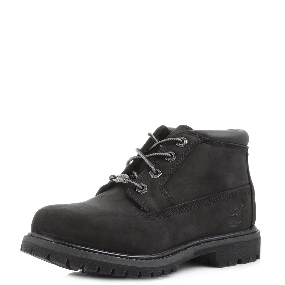 womens timberland nellie chukka waterproof black leather