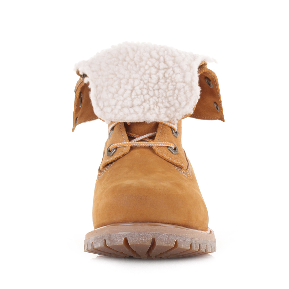 Womens Timberland Authentics Teddy Waterproof Fold Down