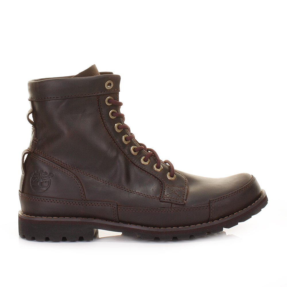 TIMBERLAND EARTHKEEPERS RUGGED 6 INCH DARK BROWN BURNISHED ...