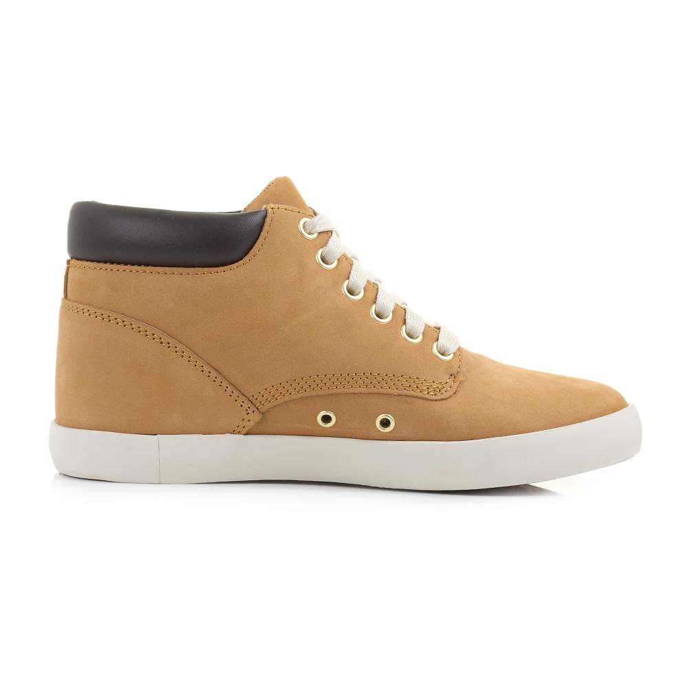Hi Top Beige Womens Shoe