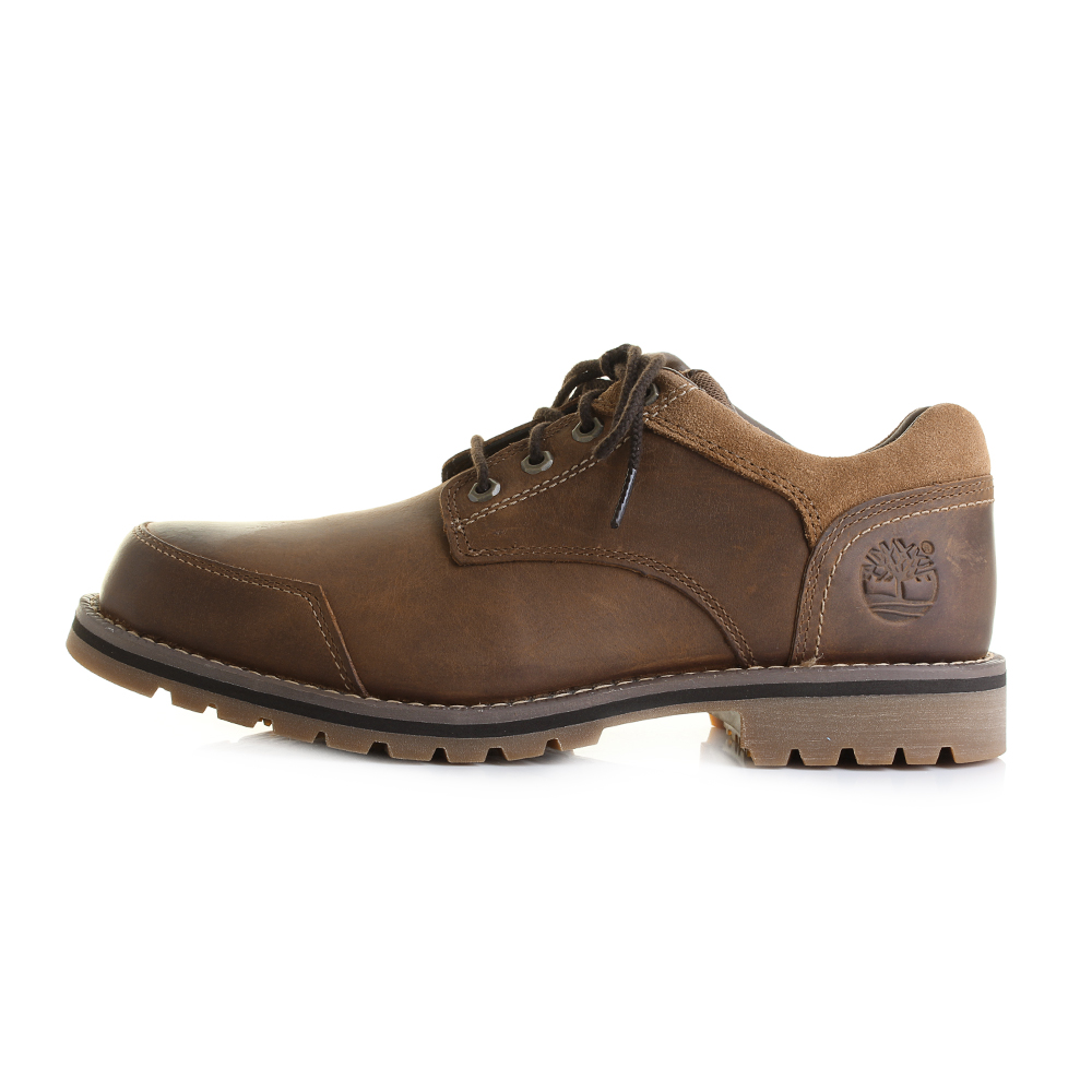 Mens Timberland Larchmont Oxford Brown Leather Oxford ...
