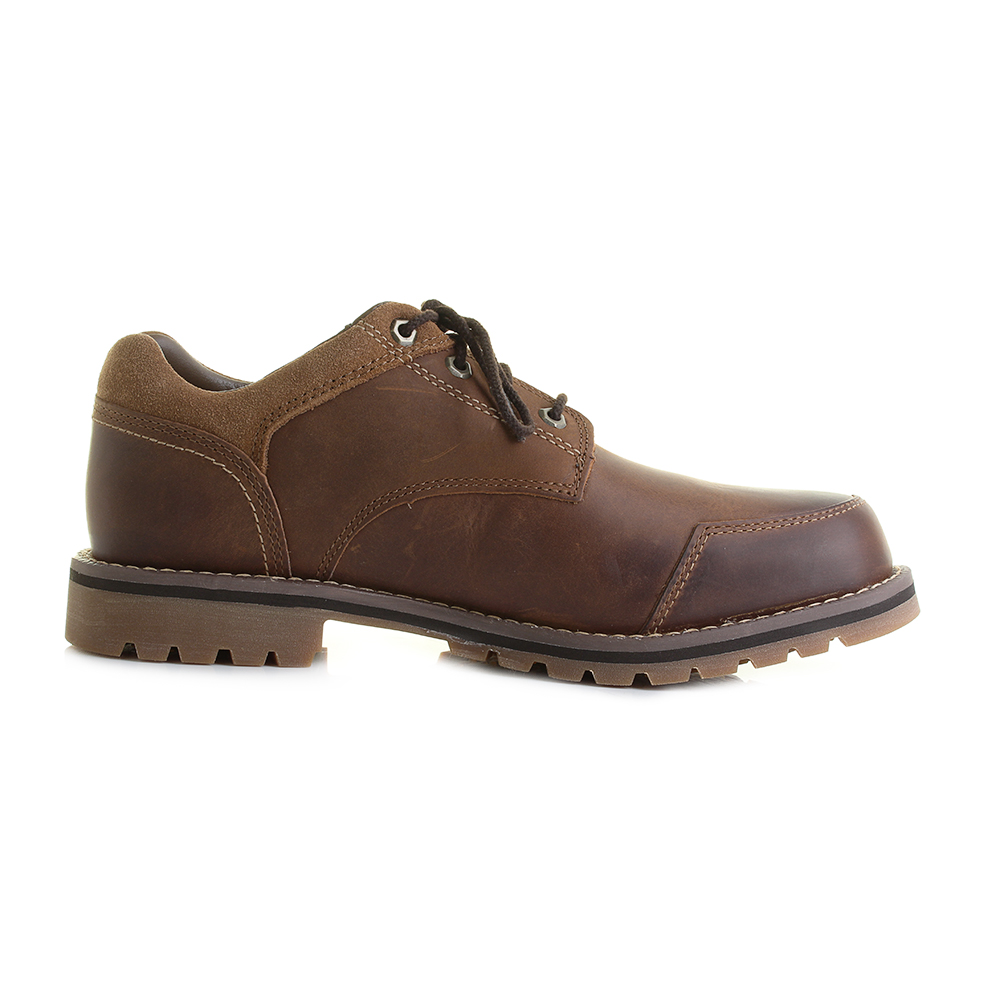 mens timberland larchmont oxford brown leather oxford