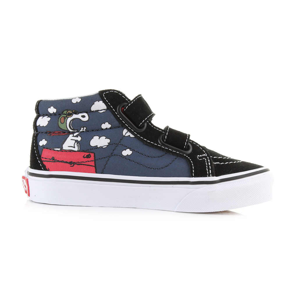 Youth Vans Sk8 Reissue Peanuts Snoopy Flying Ace Dress
