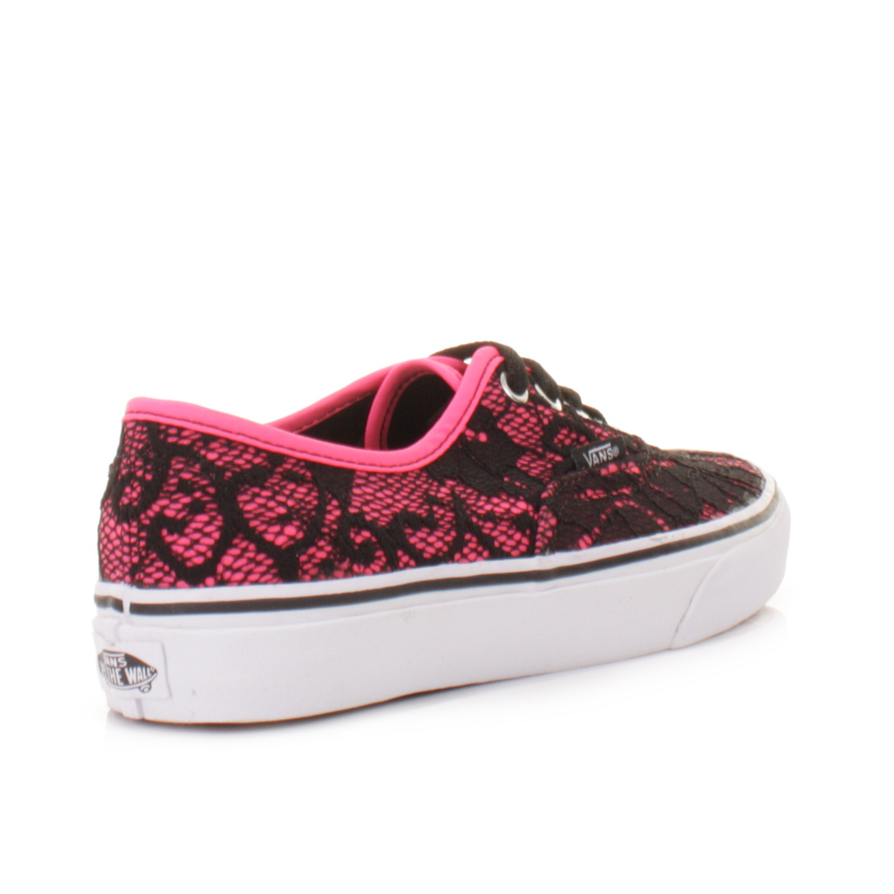 vans neon authentic pink  e161ccb15318