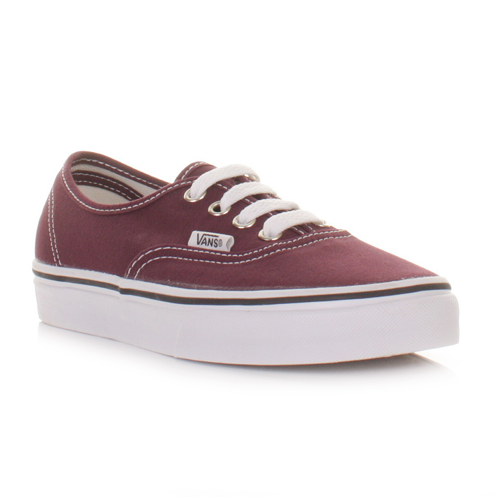 vans authentic weinrot