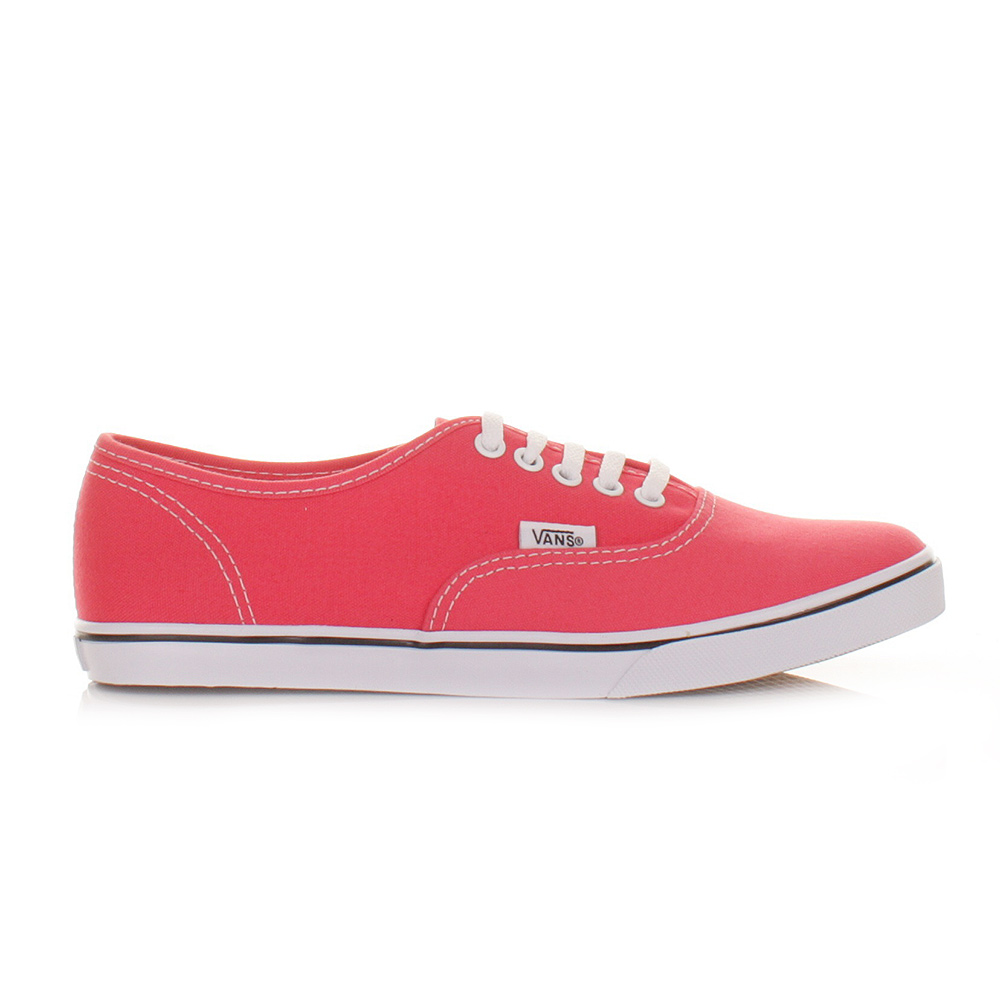 Pink Authentic Vans Shoes