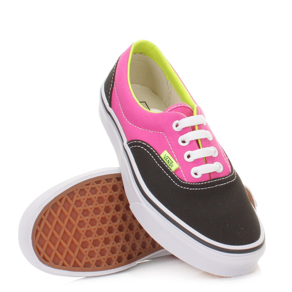 3 tone era vans sneakers