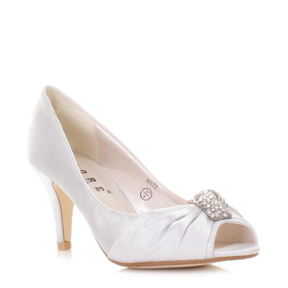 Bridesmaid Heels Silver