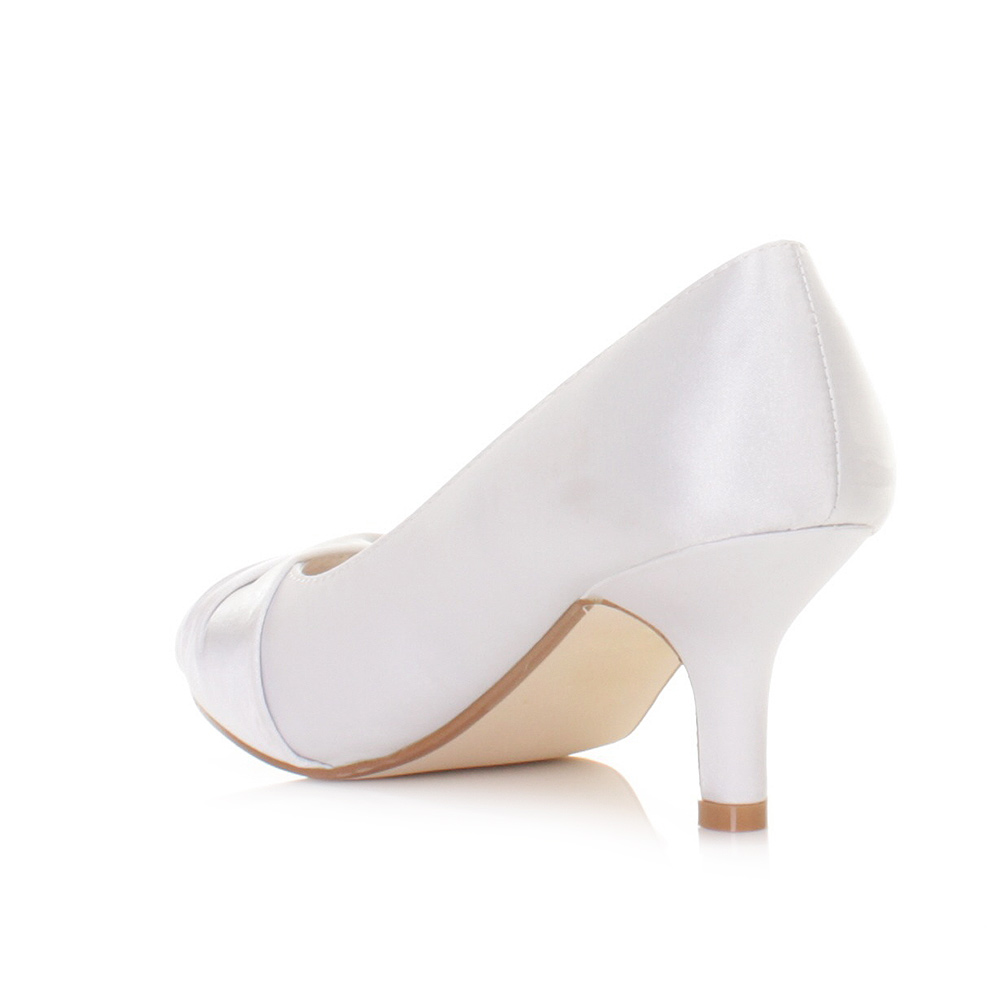 Kitten Heel Wedding Shoes Uk