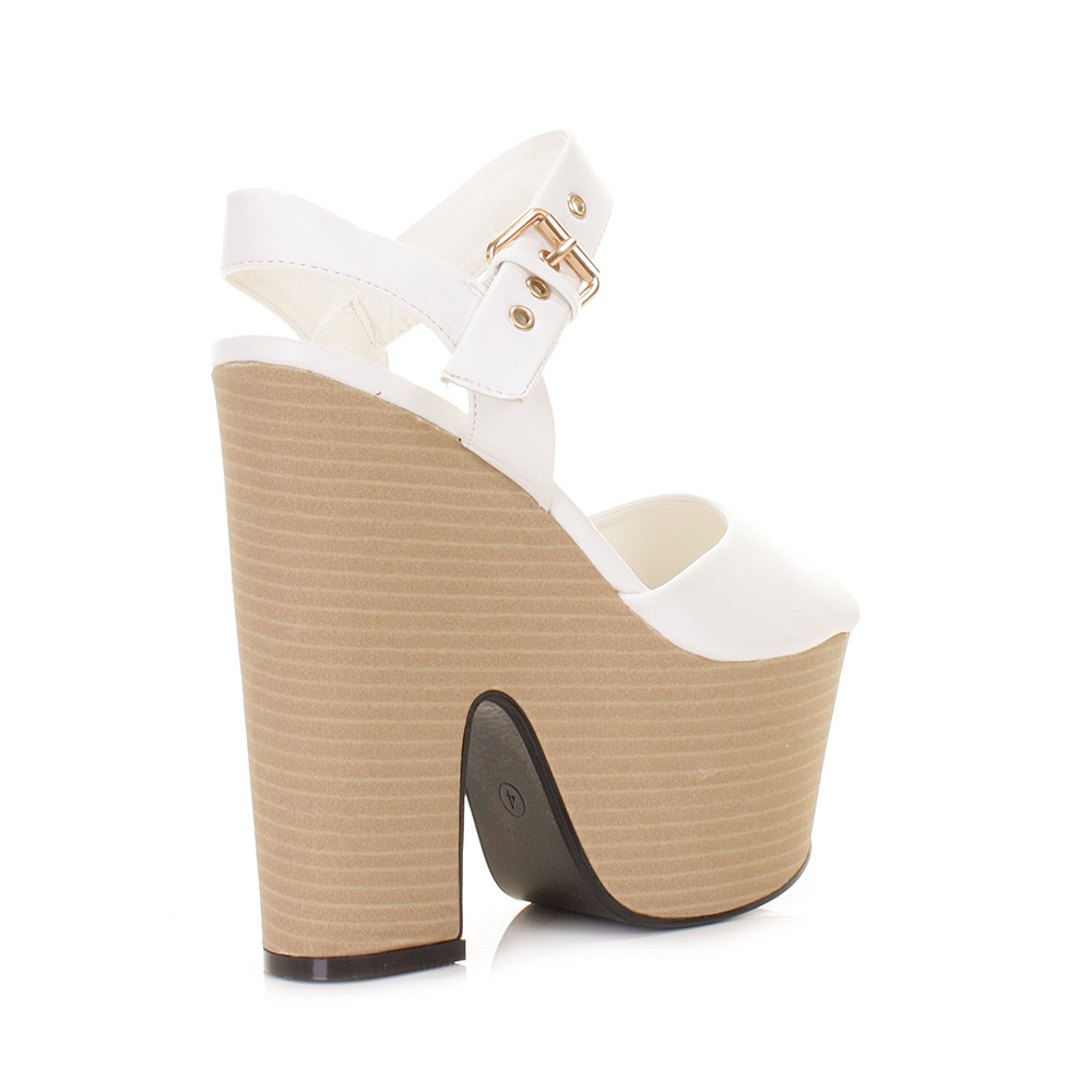 Cheap White Wedge Heels | Tsaa Heel