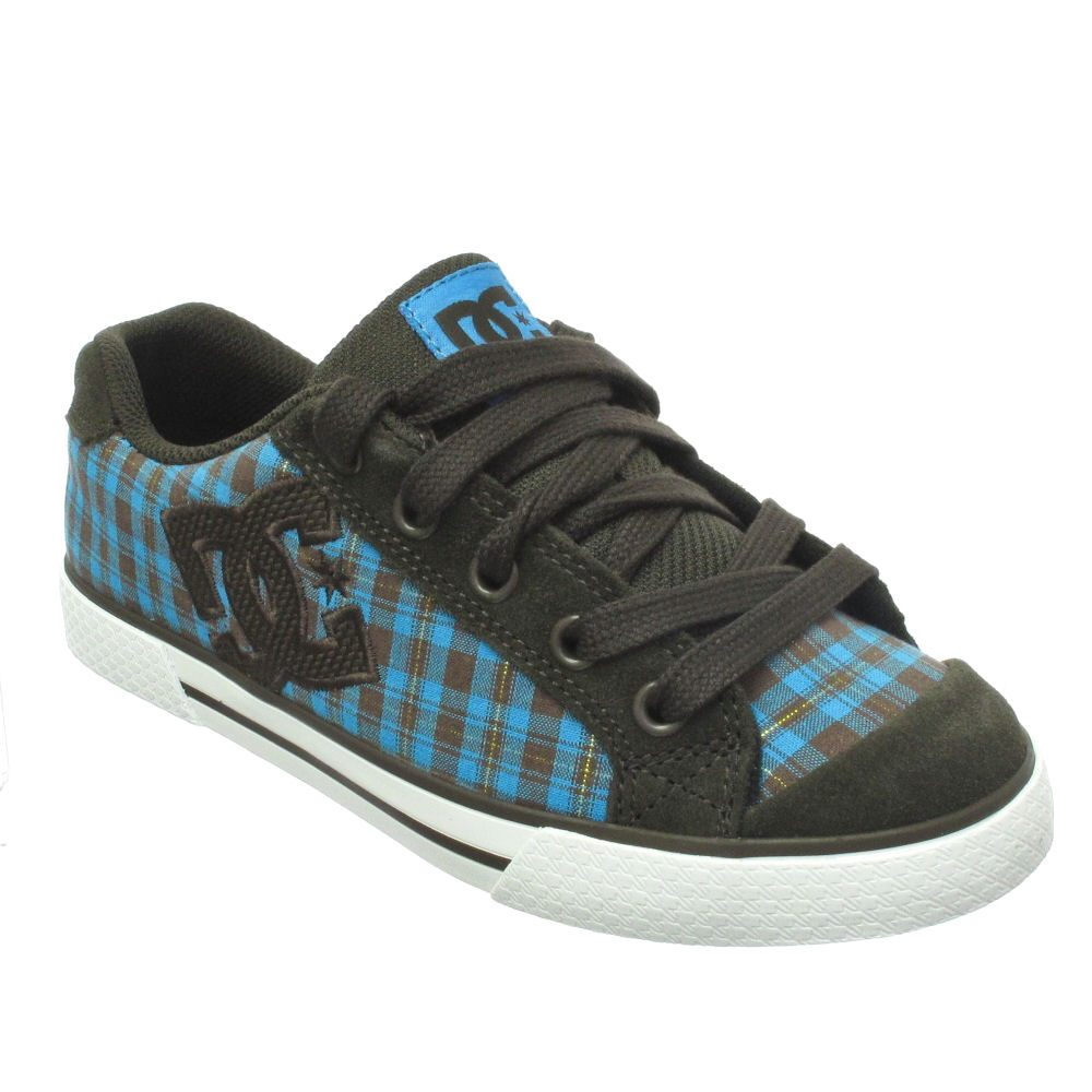 womens dc shoes chelsea trainers chocolate size 3 8 ebay