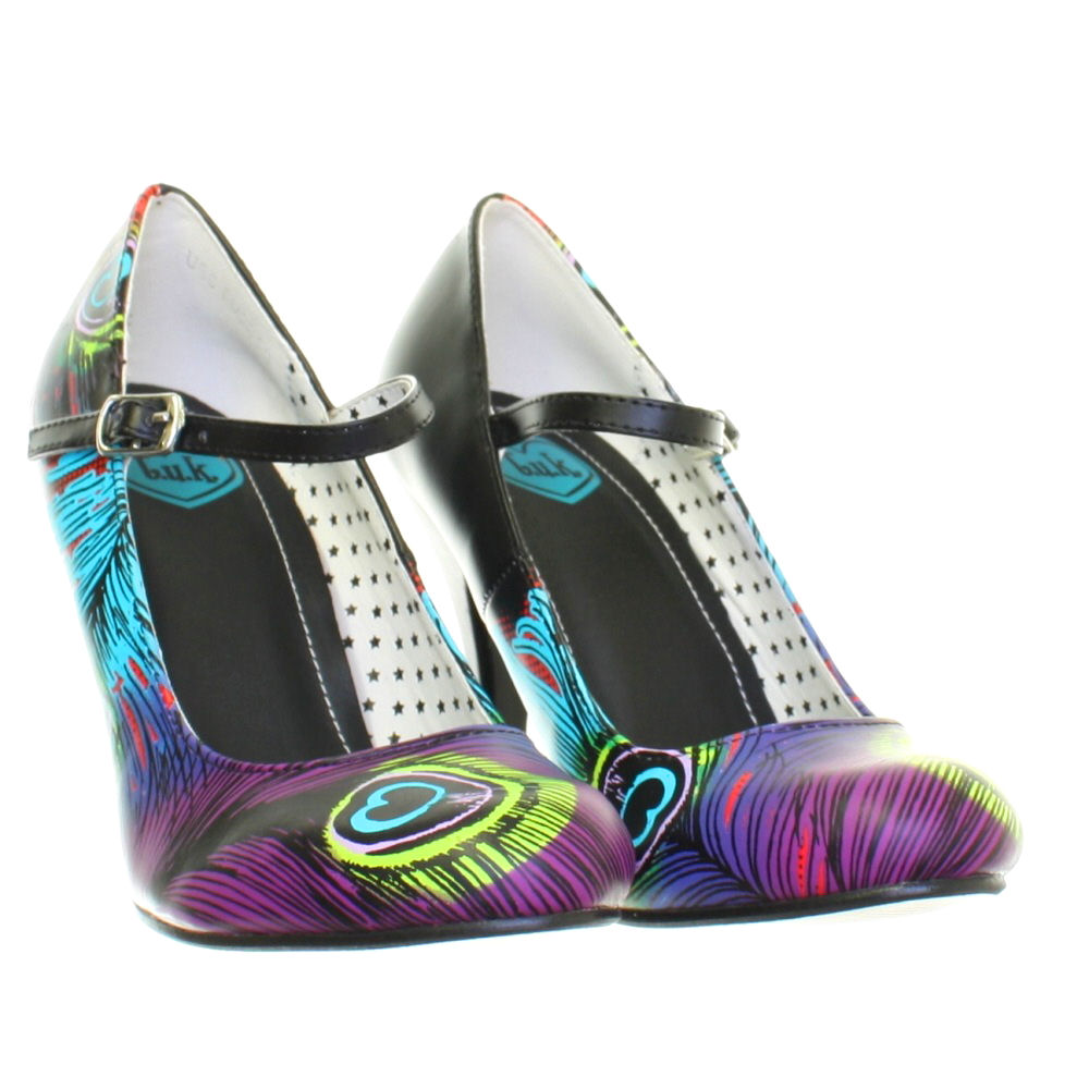 Tuk Peacock Heels