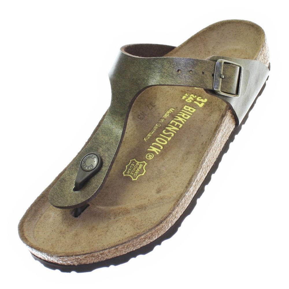 birkenstock gizeh sandalen damen frauen flach geformt. Black Bedroom Furniture Sets. Home Design Ideas
